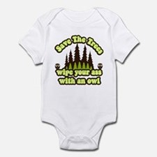 Save the Trees Infant Bodysuit