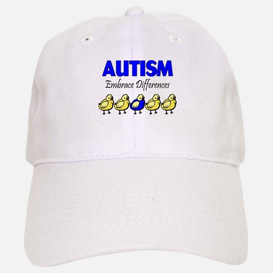 Autism, Embrace Differences Baseball Baseball Cap