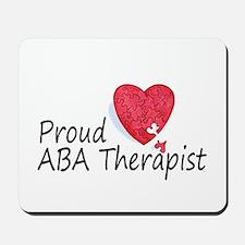 Proud ABA Therapist Mousepad