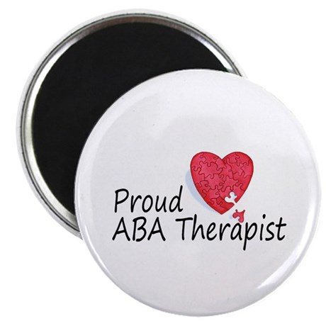 """Proud ABA Therapist 2.25"""" Magnet (100 pack)"""