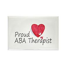 Proud ABA Therapist Rectangle Magnet