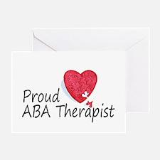 Proud ABA Therapist Greeting Card