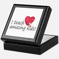I Teach Amazing Kids Keepsake Box