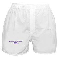 Religious Studies Student mom Boxer Shorts