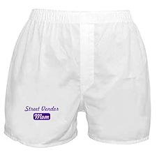 Street Vendor mom Boxer Shorts
