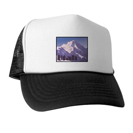 Utah Mountains Trucker Hat