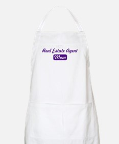 Real Estate Agent mom BBQ Apron