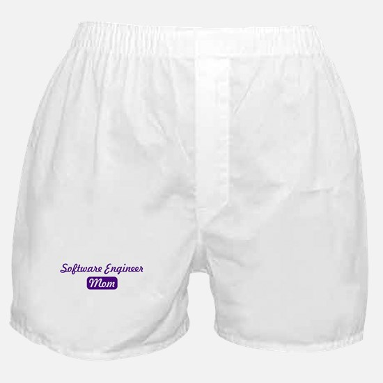 Software Engineer mom Boxer Shorts