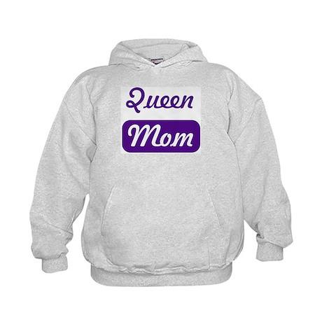 Queen mom Kids Hoodie