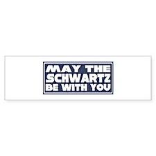 schwartz Bumper Bumper Sticker