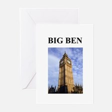 big ben london england gifts Greeting Cards (Pk of