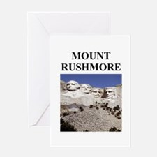 mount rushmore gifts and t-sh Greeting Card