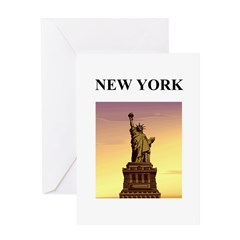 statue of liberty new york ci Greeting Card