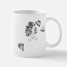 Cherub carrying books Mug