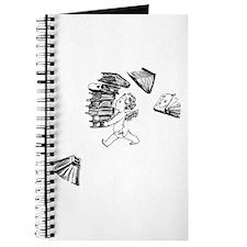 Cherub carrying books Journal