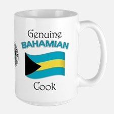 Genuine Bahamian Cook Large Mug