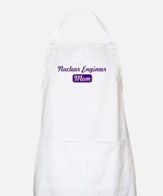Nuclear Engineer mom BBQ Apron