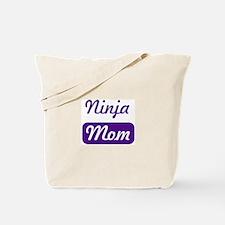 Ninja mom Tote Bag