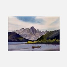 Redfish Lake Rectangle Magnet