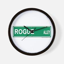 Rogue Alley Wall Clock