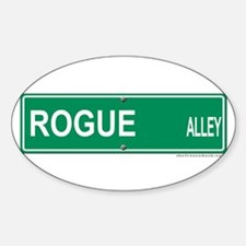 Rogue Alley Oval Decal