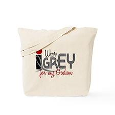 I Wear Grey For My Godson 32 Tote Bag