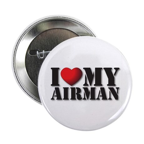"Love My Airman 2.25"" Button (10 pack)"