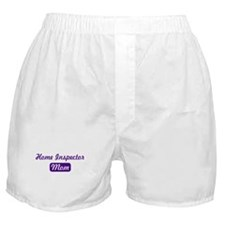 Home Inspector mom Boxer Shorts
