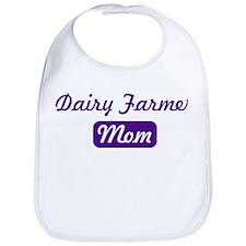 Dairy Farmer mom Bib