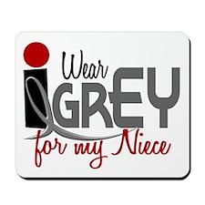 I Wear Grey For My Niece 32 Mousepad