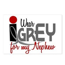 I Wear Grey For My Nephew 32 Postcards (Package of