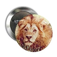 "Lion 2.25"" Button"