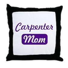 Carpenter mom Throw Pillow