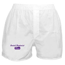 Dental Hygienist mom Boxer Shorts