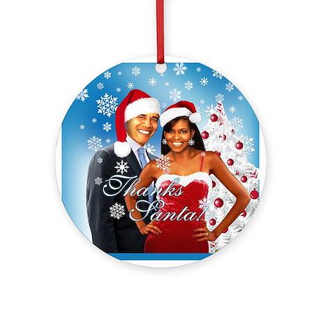 Thanks Santa! Ornament (Round)