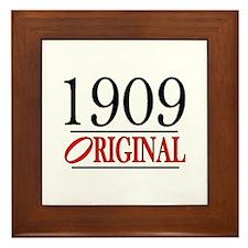 1909 Framed Tile