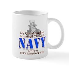 Navy Granddaughter Mug