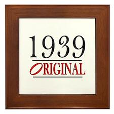 1939 Framed Tile