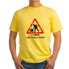 Under Construction Distressed T