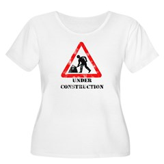 Under Construction Distressed T-Shirt