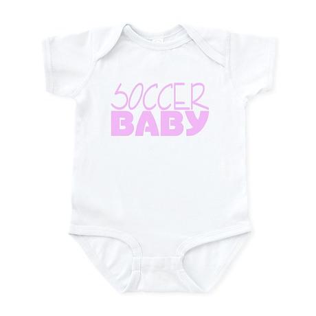 Soccer Baby (Pink) Infant Bodysuit