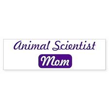 Animal Scientist mom Bumper Bumper Sticker