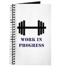 Gym Work In Progress Journal