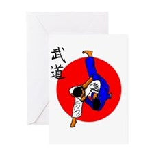 Judo Glory Greeting Card