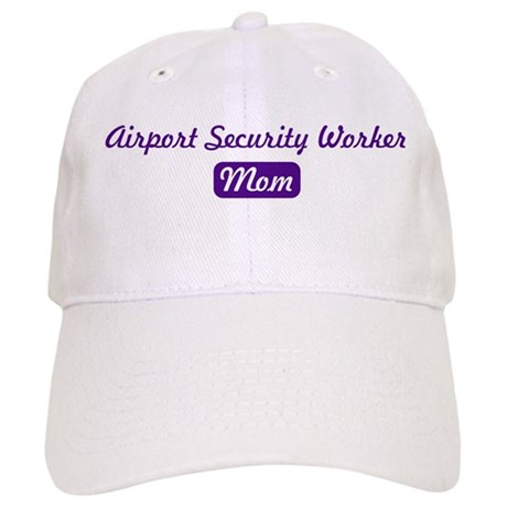 Airport Security Worker mom Cap