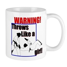 Throws Like a Girl Mug
