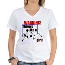 Throws Like a Girl Shirt