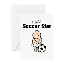 Future Soccer Star Baby Cards (Pk of 10)