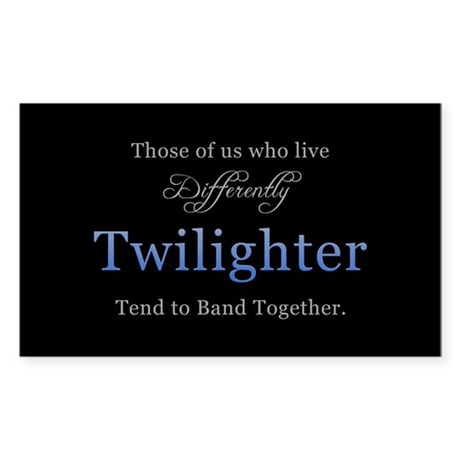 Twilighter Rectangle Sticker