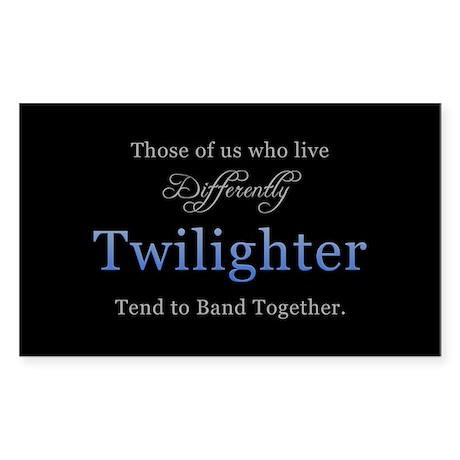 Twilighter Rectangle Sticker 10 pk)
